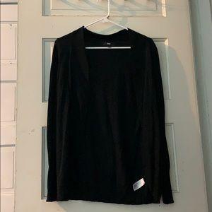 XS black sweater